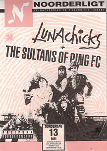 Lunachicks / Sultans Of Ping FC - 13 mei 1993