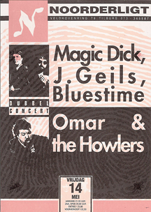Magic Dick / J.Geils / Bluestime / Omar & The Howlers - 14 mei 1993
