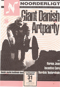 Giant Danish Art Party - 31 mei 1993