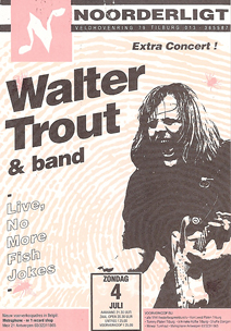 Walter Trout & Band -  4 jul 1993