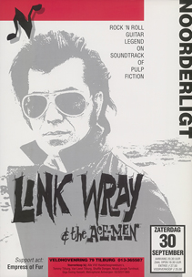 Link Wray & the Ace-Men - 30 sep. 1995