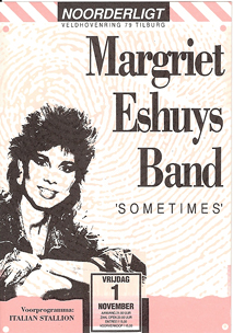 Margriet Eshuys Band -  1 nov 1991