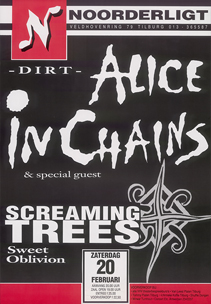 Alice In Chains / Screaming Trees - 20 feb 1993