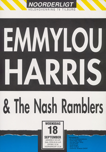 Emmylou Harris & the Nash Ramblers - 18 sep. 1991