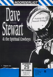 Dave Stewart & the Spiritual Cowboys - 29 sep. 1990