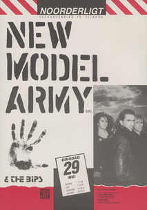New Model Army - 29 mei 1990