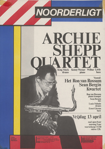 Archie Shepp Quartet - 13 apr 1984