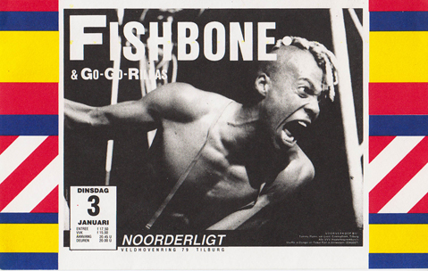 Fishbone -  3 jan. 1989