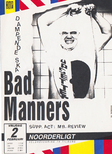 Bad Manners -  2 feb. 1990