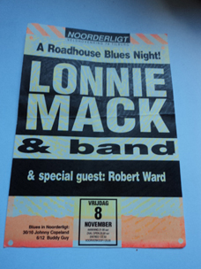 Lonnie Mack / Robert Ward -  8 nov 1991