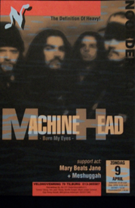 Machine Head -  9 apr 1995