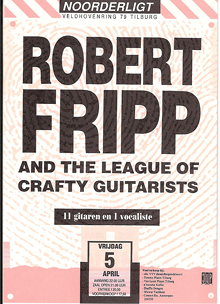 Robert Fripp and the League of Crafty Guitarists -  5 apr 1991