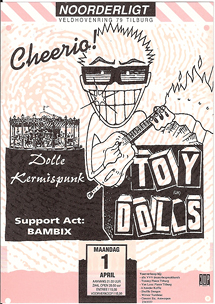 Toy Dolls -  1 apr 1991