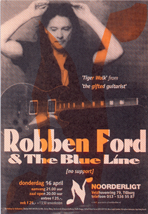 Robben Ford & the Blue Line - 16 apr 1998