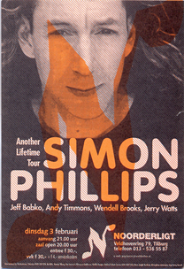 Simon Phillips -  3 feb. 1998