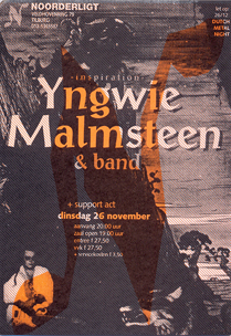Yngwie Malmsteen & Band - 26 nov 1996