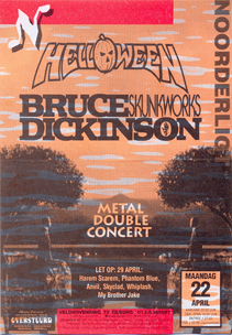 Bruce Dickinson / Helloween - 22 apr 1996