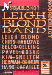 Leigh Blond Band feat. Eelco Gelling - 25 feb. 1996
