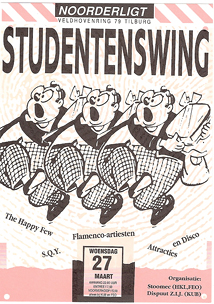 Studentenswing - 27 mrt 1991