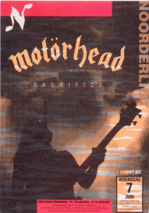 Motörhead -  7 jun. 1995