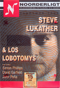 Steve Lukather & Los Lobotomys (feat. Simon Phillips) - 15 jun 1994