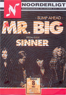Mr. Big -  8 mei 1994