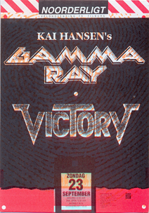 Gamma Ray / Victory - 23 sep. 1990
