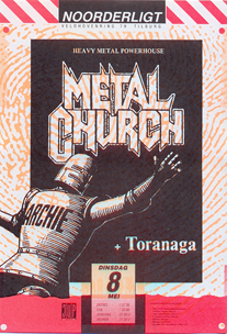 Metal Church -  8 mei 1990
