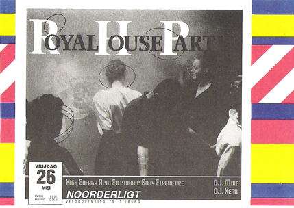 Royal House Party - 26 mei 1989