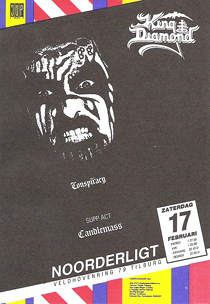 King Diamond - 17 feb 1990