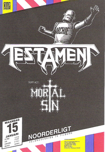 Testament - 15 jan 1990