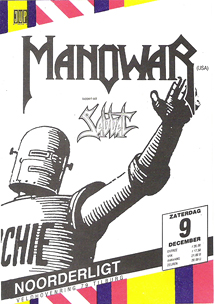 Manowar -  9 dec 1989