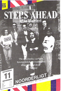 Steps Ahead - 11 nov. 1989