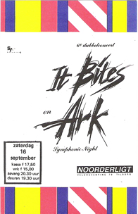 It Bites / Ark - 16 sep. 1989