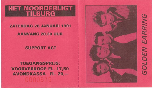 Golden Earring - 26 jan. 1991