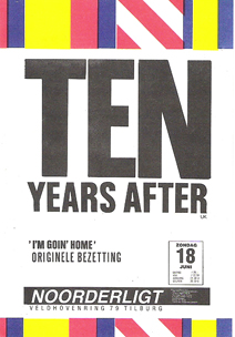 Ten Years After  (originel bezetting) - 18 jun 1989