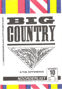 Big Country - 10 jun 1989