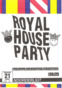 Royal House Party - 21 apr 1989