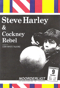 Steve Harley & Cockney Rebel -  9 mrt 1989