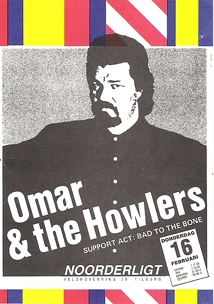Omar & The Howlers - 16 feb. 1989