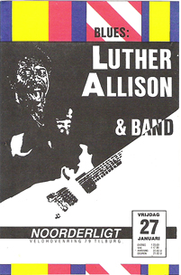 Luther Allison - 27 jan. 1989