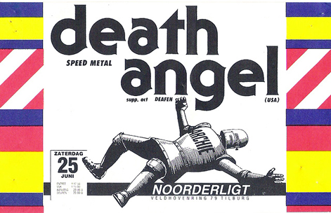 Death Angel - 25 jun 1988