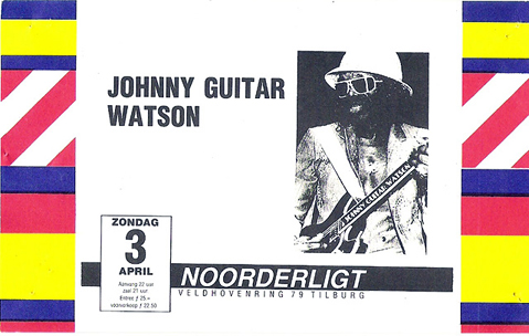 Johnny Guitar Watson -  3 apr 1988