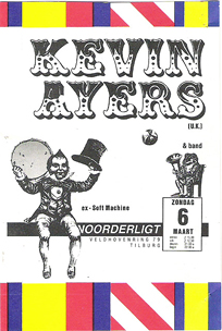 Kevin Ayers -  6 mrt 1988