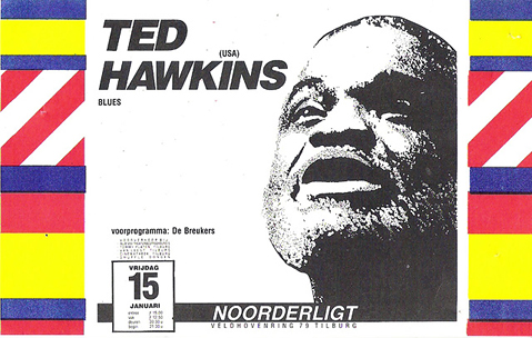 Ted Hawkins - 15 jan. 1988