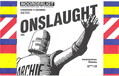 Onslaught - 17 dec 1987