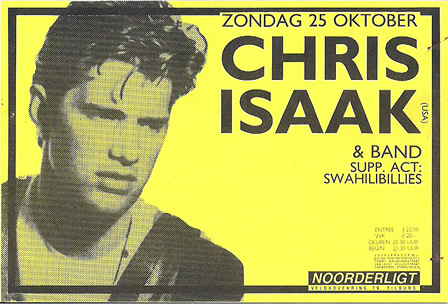 Chris Isaak - 25 okt 1987