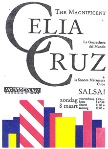 Celia Cruz and La Sonora Matancera -  8 mrt. 1987