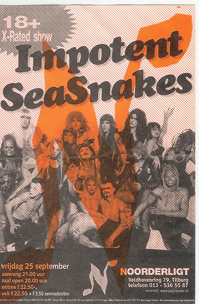 Impotent Sea Snakes - 25 sep 1998
