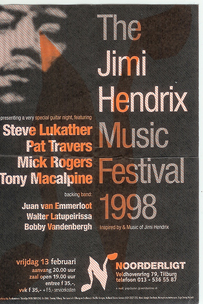 The Jimi Hendrix Music Festival:  - 13 feb. 1998